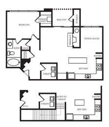 Providence In The Park Apartment Homes - 1 Bedroom 1 Bath Apartment