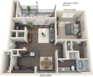 Floor Plan Apex - D