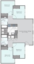 4 bedroom 2 bath website 189 sq ft