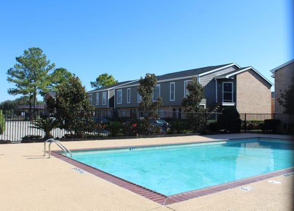 Swimming Pool at The Alara, Houston, TX, 77060