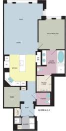 Floor Plan Maple with Den