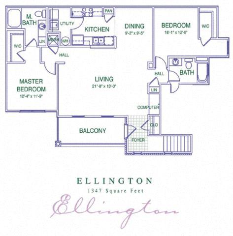 Floor Plan  Ellington