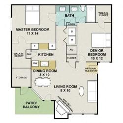 Floor Plan Cedarcrest