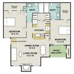 Floor Plan Desert Oak