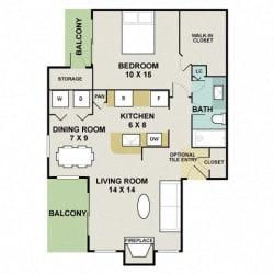 Floor Plan Oakwood