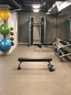 Fitness Center-Bench   777 Broadway