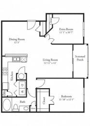 Gahagan Floor Plan