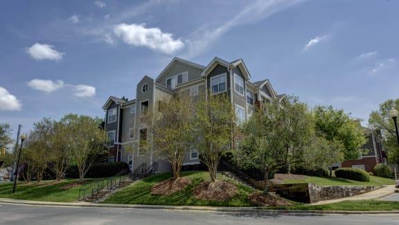 Lovely Rock Creek Park Views at Cambridge Apartments, Raleigh,North Carolina