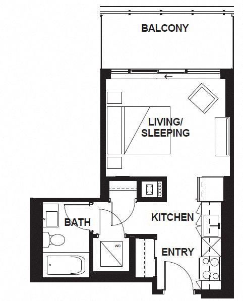 Floor Plan  W-303-WB-03-W-3402 FloorPlan at VERSUS, Calgary