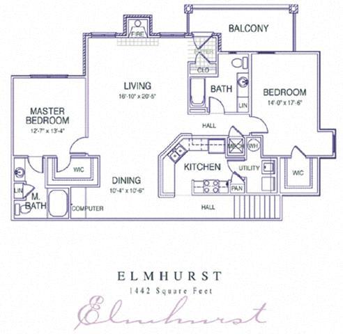 Floor Plan  Elmhurst Renovated