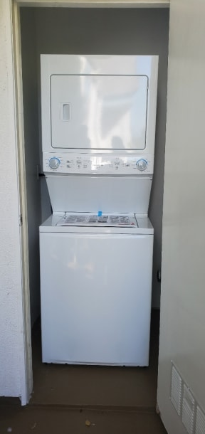 Select Homes have Washer and Dryers
