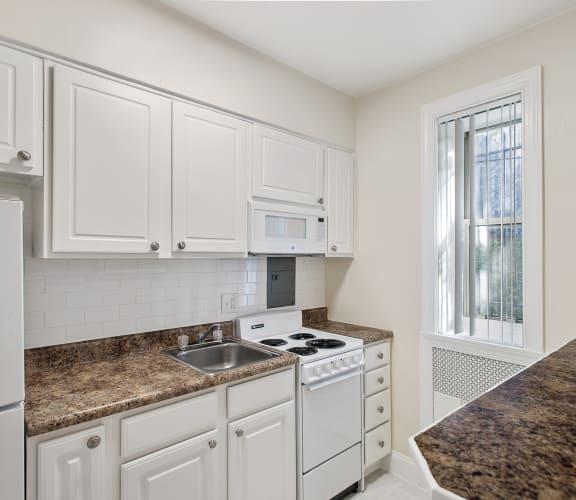 Tivoli Gardens Apartment Kitchen Washington DC