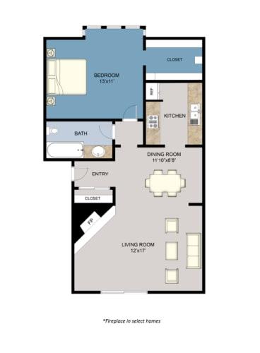 Floor Plan  1A/1B