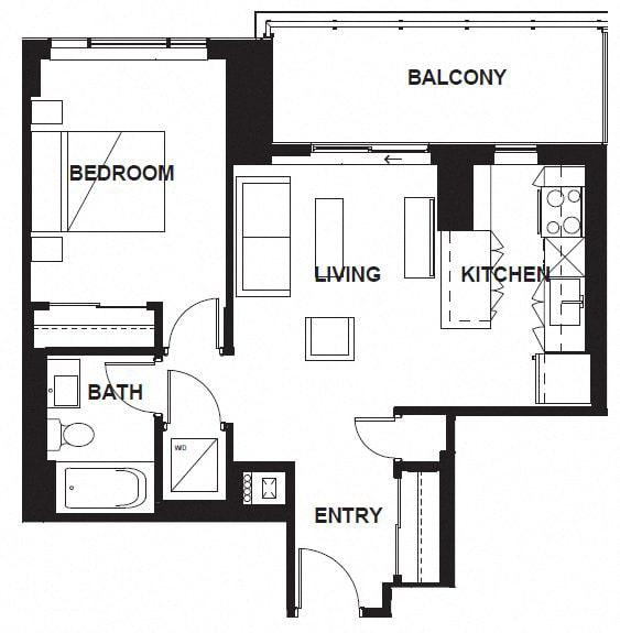 Floor Plan  W-304-W-X04-W-3403 FloorPlan at VERSUS, Calgary, AB