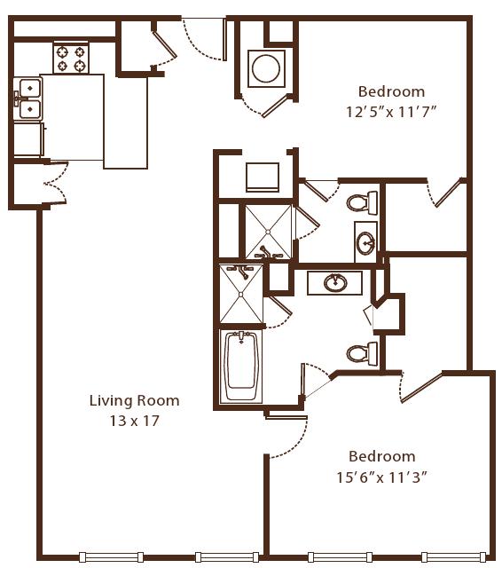 Floor Plan  Metropolitan 10