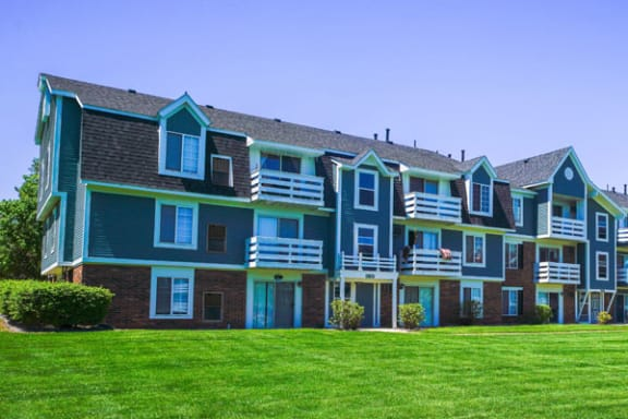 Private Balcony or Patio Available at Walnut Trail Apartments, Michigan 49002