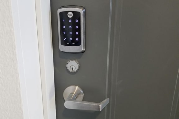 Smart Lock at Trade Winds Apartment Homes in Elkhorn, NE