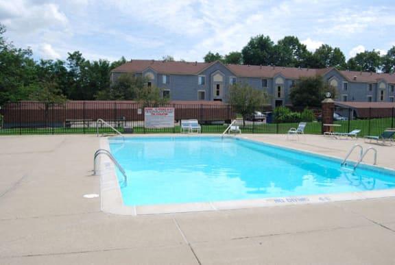Refreshing Swimming Pool at Emerald Park Apartments in Kalamazoo, MI