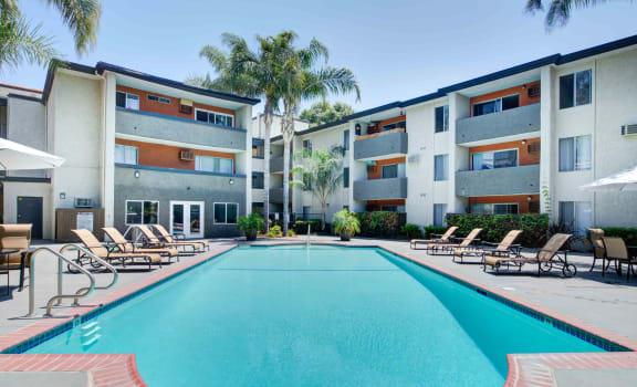 Refreshing Pool at Cornerstone Apartments