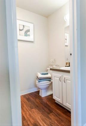 Everett Apartments - Tessera Apartments - Master Bath
