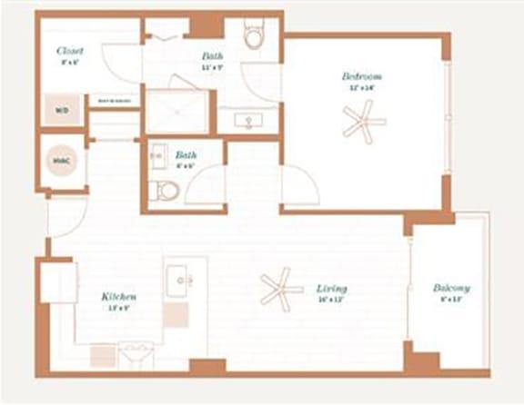 Floor Plan  Walnut