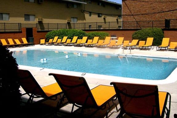 Highland Terrace pool.
