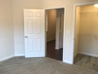 Walk-In Closets With Built-In Shelving at CLEAR Property Management , The Lookout at Comanche Hill, San Antonio, 78247