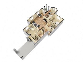 Yarrow Floor Plan