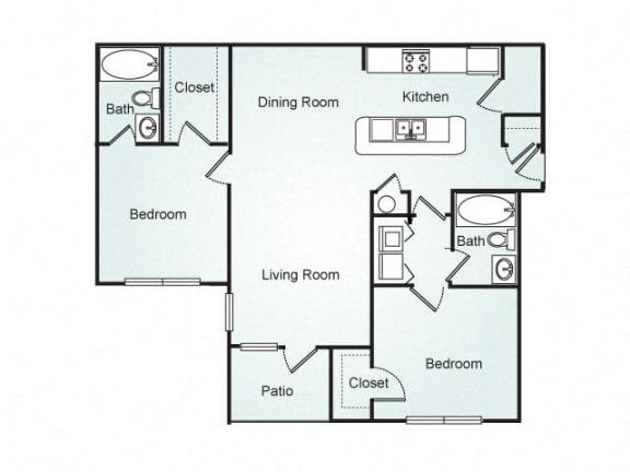 Floor Plan  Cameron FloorPlan at Southpoint Crossing, Durham, 27713