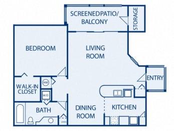 Floor Plan Antigua A1