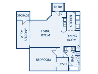 Floor Plan Bimini A2