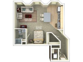 A3 Floor Plan |1600 Glenarm