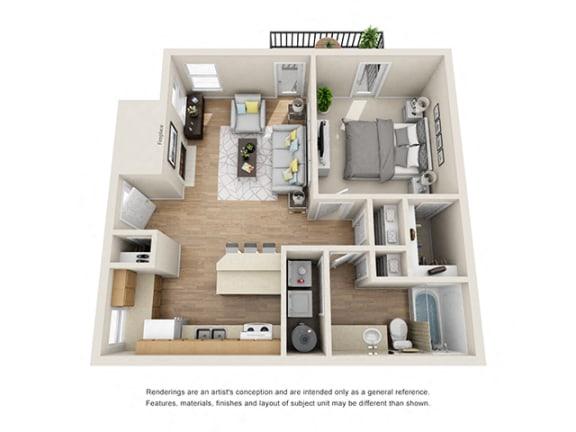 Floor Plan  Addison at Sandy Springs_Harbor