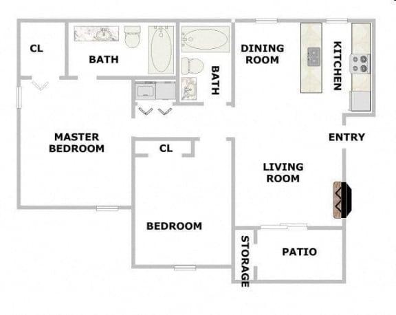 Floor Plan  Elmwood
