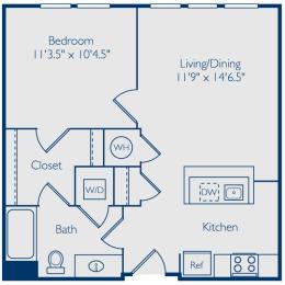 1 bedroom apartments in alexandria va