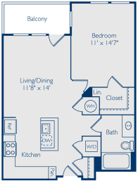 1 bedroom apartments with balcony, alexandria
