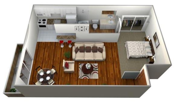 Floor Plan  studio a floor plan