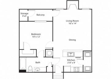 banberry alt floor plan - preserve at bartlett