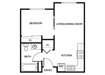 Floor Plan  A01 floor plan
