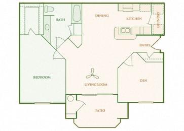 Willow Springs - Aventene - 1 bedroom - 1 bath
