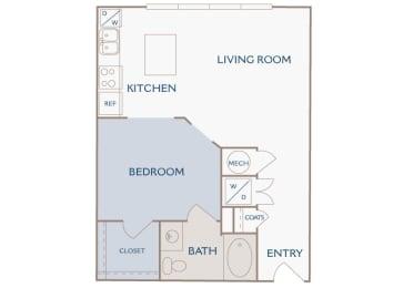 A1 Sienna floor plan