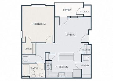Glenbrook Apartments - A1 - 1 bedroom and 1 bath