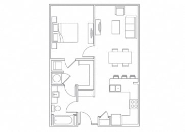 Floor Plan  Best Apartments in Franklin TN
