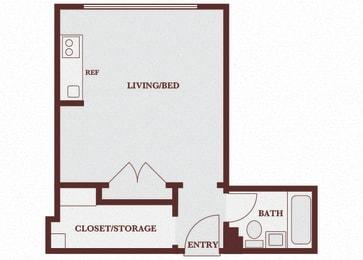 John Winthrop A1 floor plan