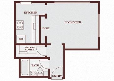 John Winthrop A2 floor plan