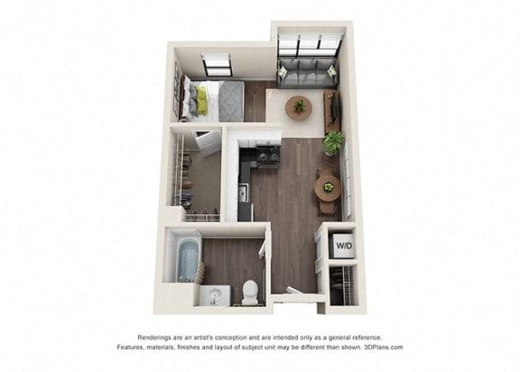 Floor Plan  Studio 2
