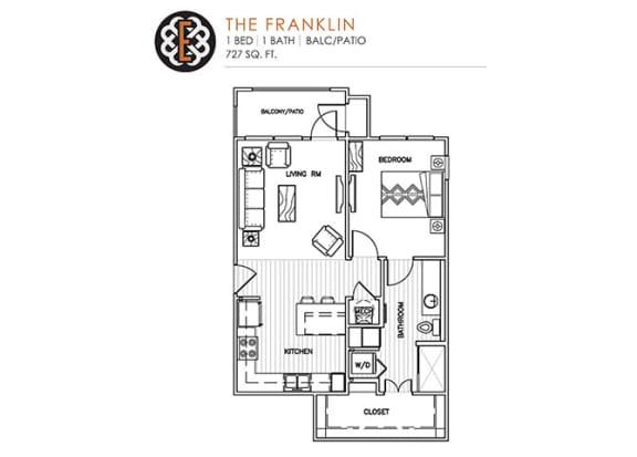 Floor Plan  THE FRANKLIN at The Edison at Peytona, Gallatin, TN 37066