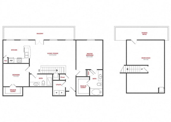 Floor Plan  Avignon