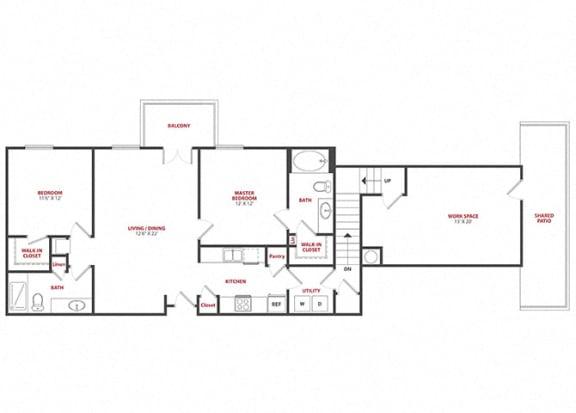 Floor Plan  Evangeline