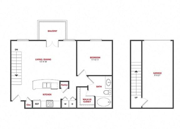 Floor Plan  LaSalle